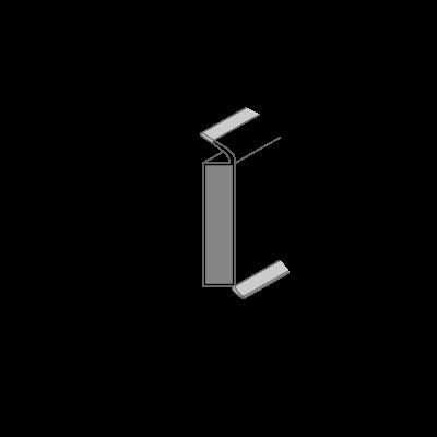 Деревянный плинтус для пола Dollken EP60/13