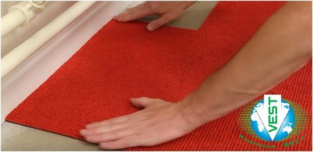 Укладка ковровой плитки - гарантия до 5 лет!
