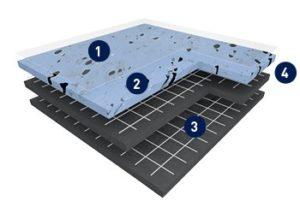 Дизайн плитка ПВХ GTI EL5 CleanTech